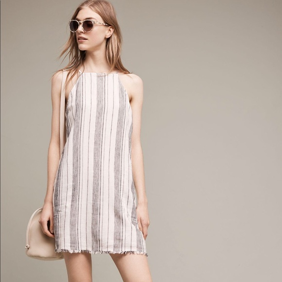 c711270af4 Anthropologie Dresses   Skirts - Anthropologie Cloth + Stone B W Tank Shift  Dress